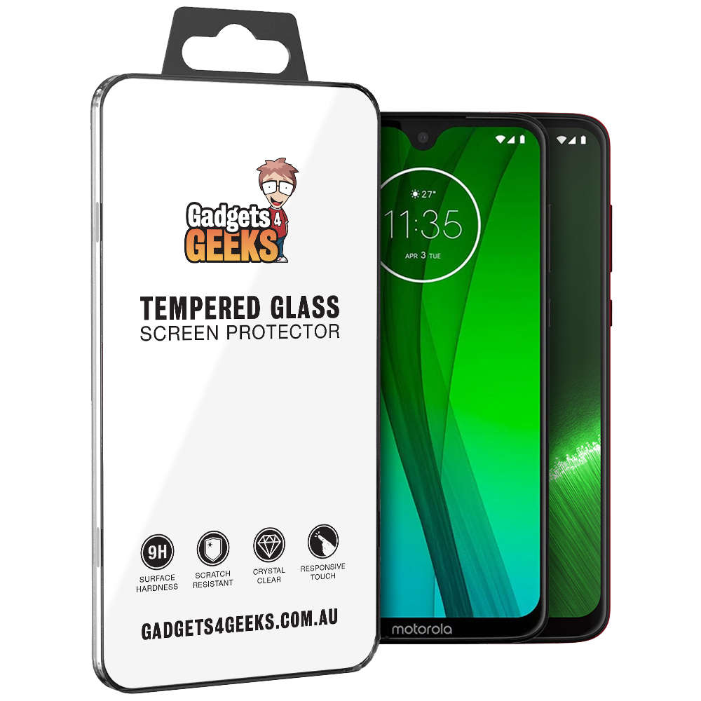 9H Tempered Glass Screen Protector for Motorola Moto G7 Plus